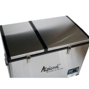 Двухкамерный автохолодильник Alpicool BCD100