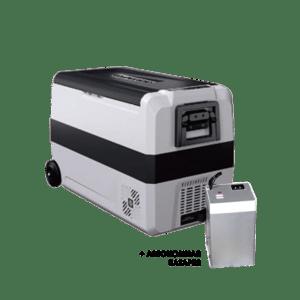 Компрессорный автохолодильник Alpicool T50 + Батарея